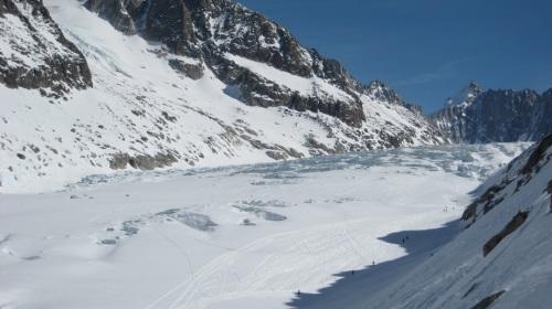 Chamonix - Il ghiacciaio dell'Argentiere
